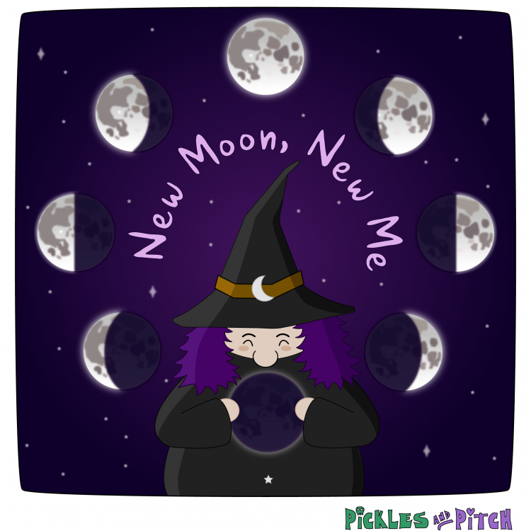 New Moon, New Me